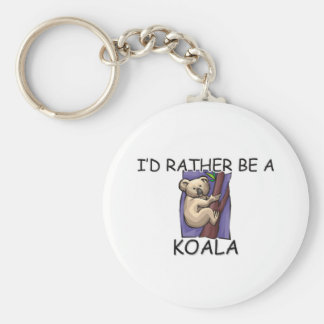 I'd Rather Be A Koala Key Ring