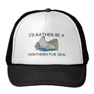 I'd Rather Be A Northern Fur Seal Cap