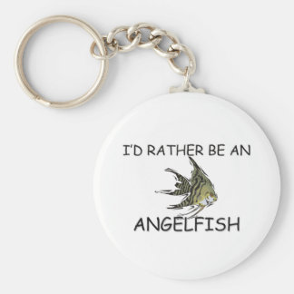 I'd Rather Be An Angelfish Key Chains