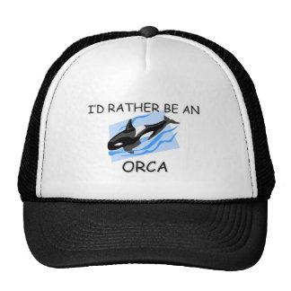 I'd Rather Be An Orca Cap