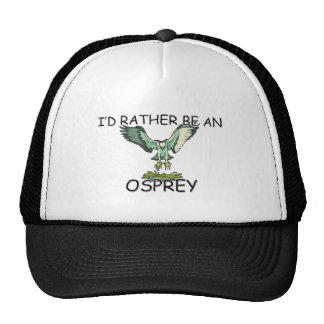 I'd Rather Be An Osprey Mesh Hats