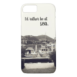 I'd rather be at sea - Boat phone case