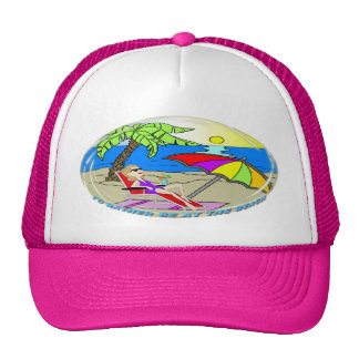 I'd Rather Be at the Beach - Woman Hat