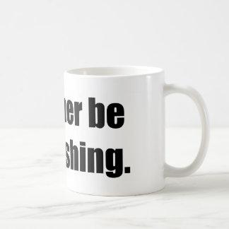 I'd Rather Be Bass Fishing Coffee Mug