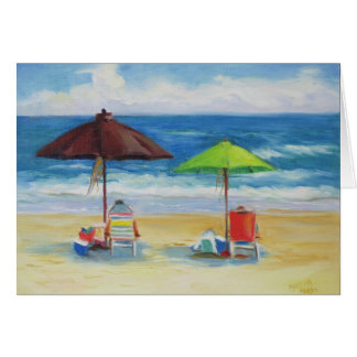 "I'd Rather Be Beaching"" Greeting Card"