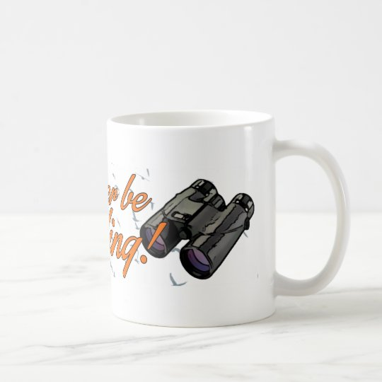 """I'd Rather be Birding"" Mug"