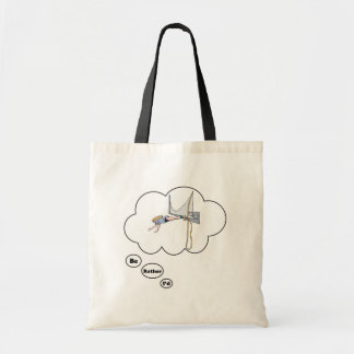 I'd rather be Bungy Jumping Budget Tote Bag