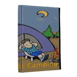 I'd Rather Be Camping - Camp Scene iPad Caseable C iPad Case