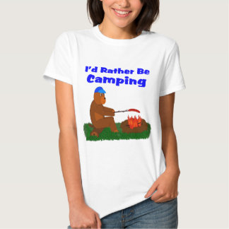 I'd Rather Be Camping Shirts