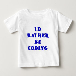 Id Rather be Coding Tees