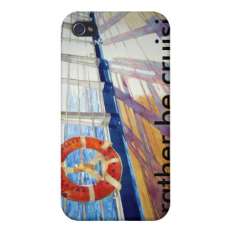 , I'd rather...be cruising iPhone 4 Cover