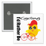 I'd Rather Be Cycling Badges