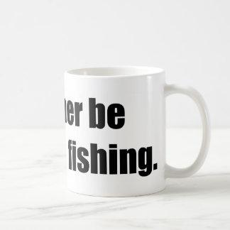 I'd Rather Be Deep Sea Fishing Classic White Coffee Mug