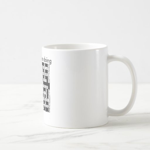 I'd Rather be Doing Crosswords! Coffee Mugs