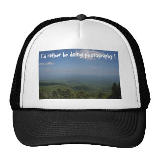 I'd rather be doing photography ! cap