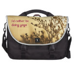 I'd Rather Be Doing Yoga Lap Top Bag Commuter Bag