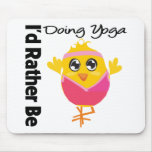 I'd Rather Be Doing Yoga Mouse Mat