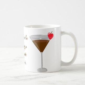 'I'd rather be drinking a chocolate martini' Basic White Mug