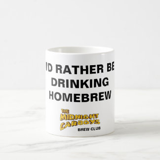 I'D RATHER BE DRINKING HOMEBREW MUG