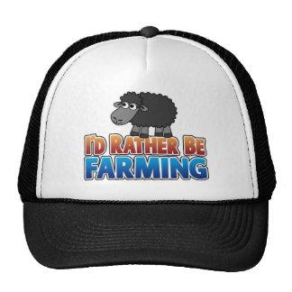 I'd Rather be Farming!  Mesh Hats