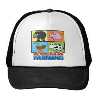 I'd rather be farming! (virtual farmer) cap