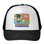 I'd rather be farming! (virtual farmer) trucker hats