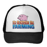 I'd Rather be Farming! (virtual farming) Trucker Hat