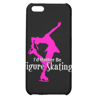 I'd Rather Be Figure Skating Cover For iPhone 5C
