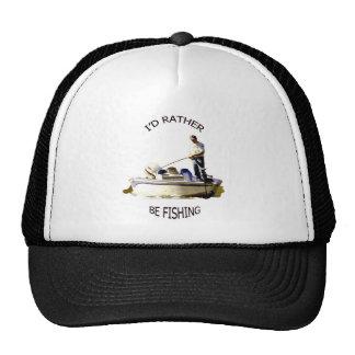 I'd rather be fishing cap