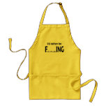I'd Rather be FishING - Funny Fishing Standard Apron