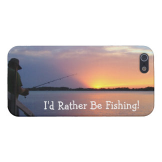 I'd Rather Be Fishing! iPhone 5/5S Case