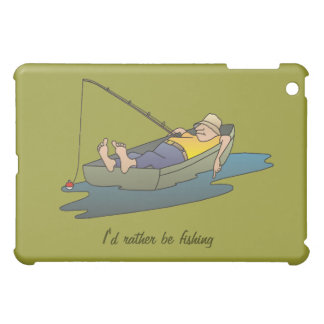 I'd rather be fishing - lazy boat day cover for the iPad mini