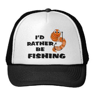 I'd Rather Be Fishing Mesh Hats