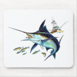 I'd rather be fishing! mouse mat