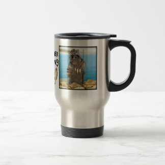 I'd Rather Be Fishing Stainless Steel Travel Mug