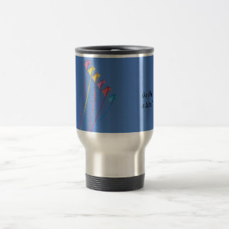 I'd Rather Be Flying a Kite Stainless Steel Travel Mug