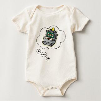 I'd rather be Gambling Slot Machines Baby Bodysuits