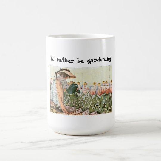 I'd Rather Be Gardening Mug