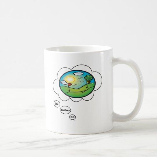 I'd rather be Golfing Coffee Mug