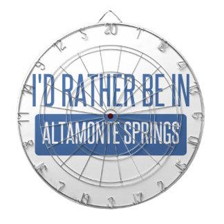 I'd rather be in Altamonte Springs Dart Board