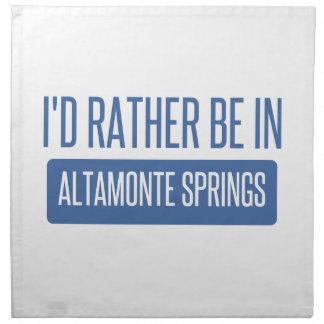 I'd rather be in Altamonte Springs Napkins