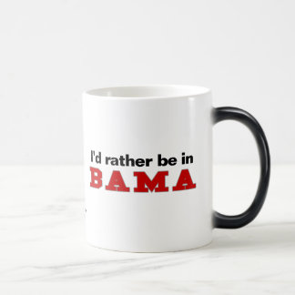 I'd Rather Be In Bama Morphing Mug