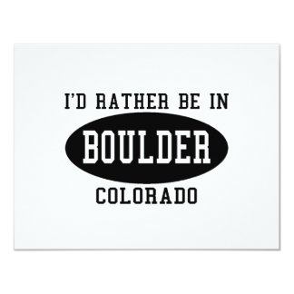 Id Rather Be in Boulder, Colorado Personalized Announcements