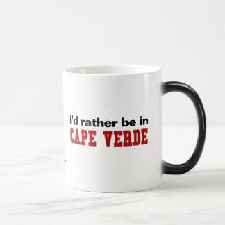 I'd Rather Be In Cape Verde Magic Mug