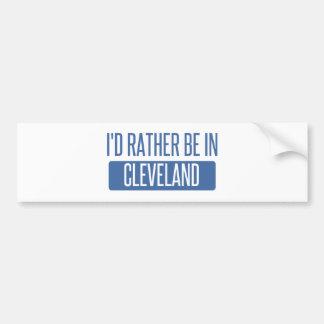I'd rather be in Cleveland TN Bumper Sticker