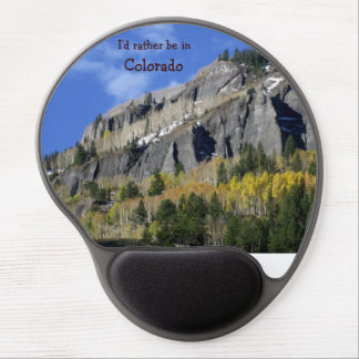 I'd rather be in Colorado Gel Mouse Pad