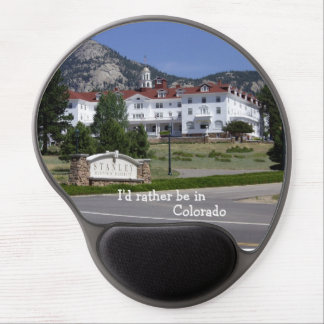 I'd rather be in Colorado! Gel Mouse Pad