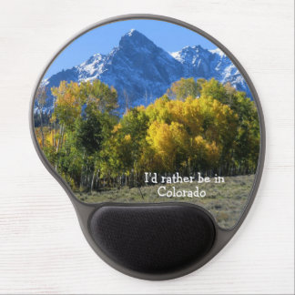 I'd rather be in Colorado! Gel Mouse Mats