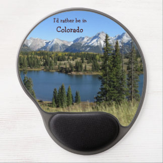 I'd rather be in Colorado mousepad Gel Mouse Mat