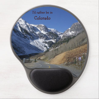 I'd rather be in Colorado mousepad Gel Mousepad